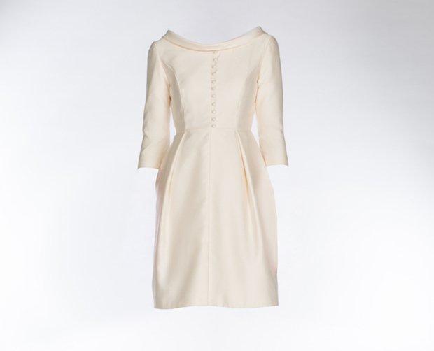 Ivory L'amour coat dress in silk venetian wool L895. copy.jpg