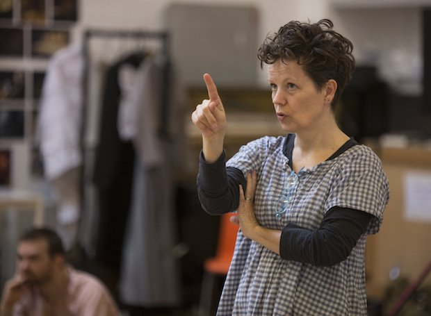 Sally Cookson in rehearsal for Jane Eyre, photo by Ellie Kurttz (4) copy.JPG