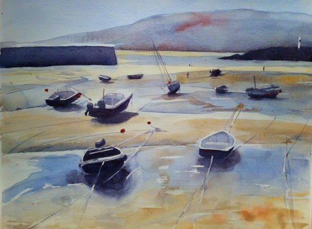 Denise Doran-Harbour at low tide copy.jpg