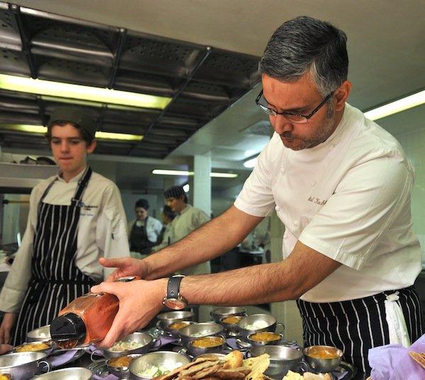 Celebrity chef cooking schools uk