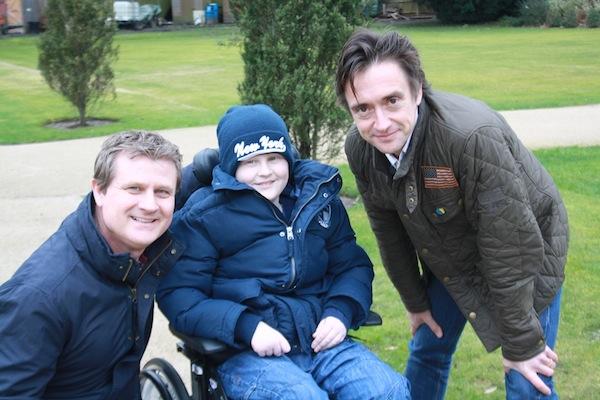 Richard Hammond visits The Children's Trust in Tadworth ...