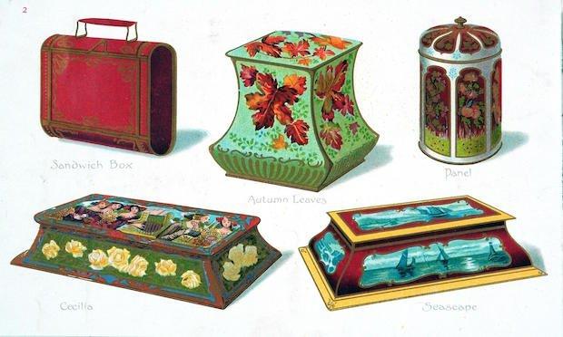Tin box designs