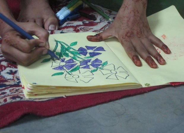 Example of art being created during the workshop copy.jpg