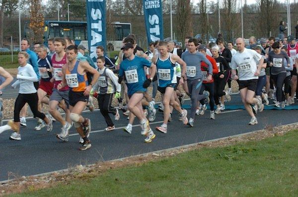 Brooklands Half Marathon, Mercedes-Benz World, Weybridge