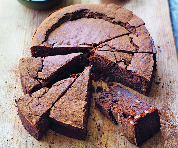 Photo credit -Kate Whitaker. Eric Lanlard's Chocolate, Pumpkin and Pecan Cake copy.jpg