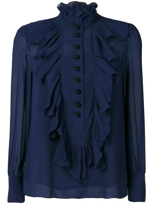 Bernard Boutique See by Chloe Ruffle Pleated Blouse £225 copy.jpg