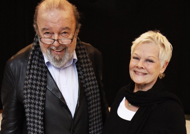Peter Hall and Judi Dench in rehearsal for A Midsummer Night's Dream at ... copy.jpg
