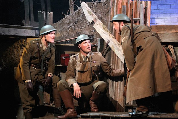 LtoR George Kemp, James Dutton, Dan Tetsell - The Wipers Times-Photographer Philip Tull- 038.JPG