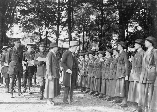 Chruchill inspects Queen Marys Womens Auxiliary Corps.jpg