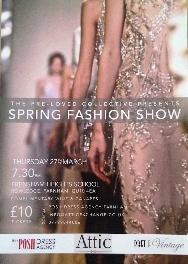 The Pre-Loved Collective fashion show and sale