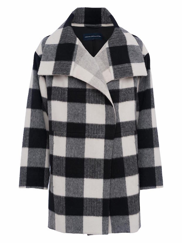 FRENCH CONNECTION JACKIE MIX LS WIDE COLLAR COAT £235 70iag_ blk wht copy.jpg