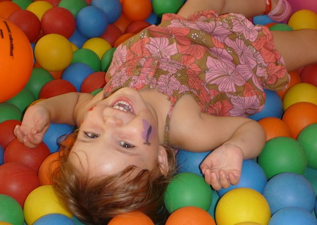 In the ball pit!.JPG