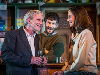 Sean Murray (Jack), Sam O'Mahony (Brendan) & Natalie Radmall-Quirke (Valerie) - The Weir - Photography by Marc Brenner.jpg