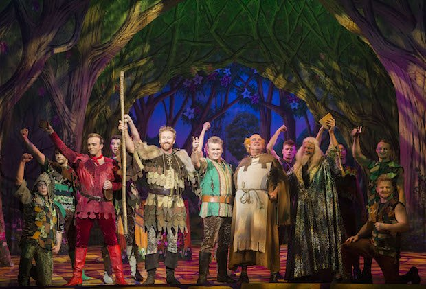 Robin Hood at The New Victoria Theatre Woking 2017 | Photo © 2017 Ian Olsson