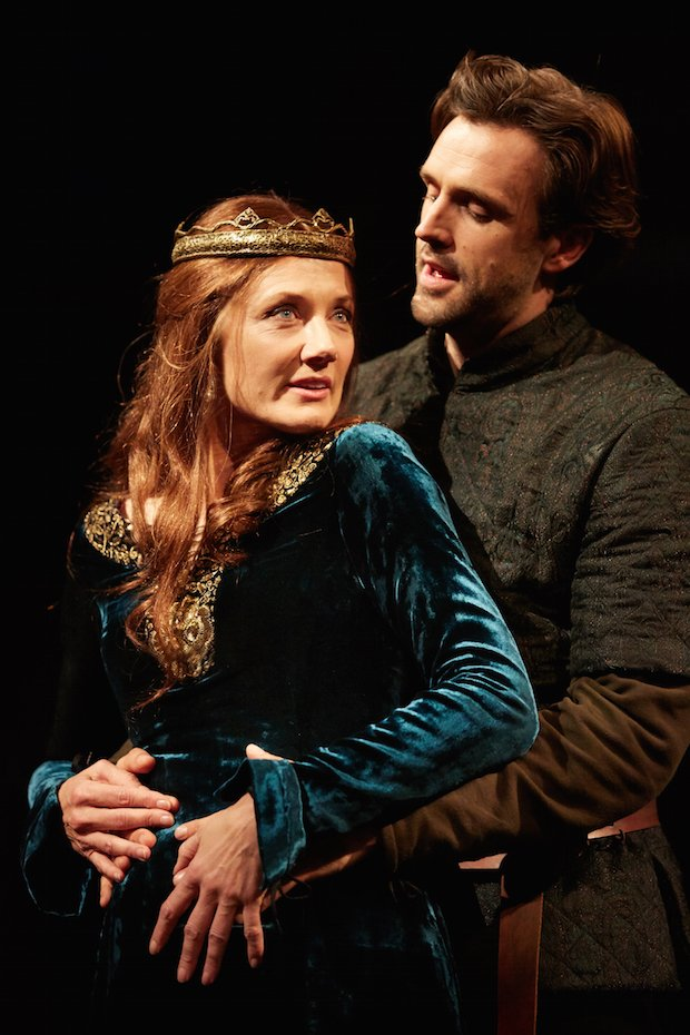 Joely Richardson Michael Xavier The Wars at the Rose Theatre. Photo by Mark Douet  C31B4772 copy.JPG