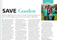 Gosden House article in print