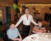 Simon Cowell with Cameron and Jordan