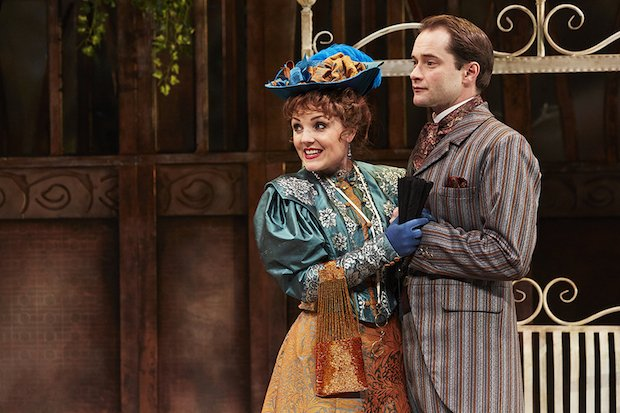 Kerry Ellis as Gwendolen & Peter Sandys-Clarke as Jack in THE IMPORTANCE OF BEING EARNEST%2c credit The Other Richard (2).jpg