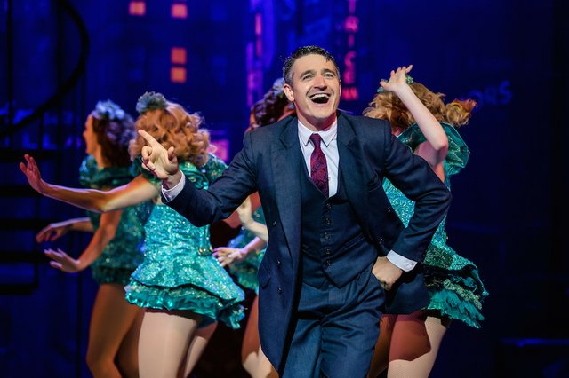 3. CRAZY FOR YOU. Tom Chambers 'Bobby' and Company. Richard Davenport..jpg