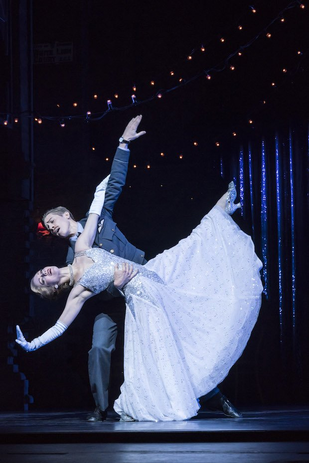 12. MATTHEW BOURNE'S CINDERELLA. Ashley Shaw 'Cinderella' and Andrew Monaghan 'Harry'. Photo by Johan Persson copy.jpg