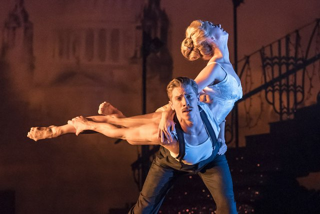 16. MATTHEW BOURNE'S CINDERELLA. Ashley Shaw 'Cinderella' and Andrew Monaghan 'Harry'. Photo by Johan Persson copy.jpg