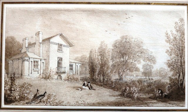 Print of Watercolour William Havell c. 1814.jpg