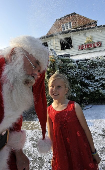 Finally Elstead's The Mill celebrates Christmas