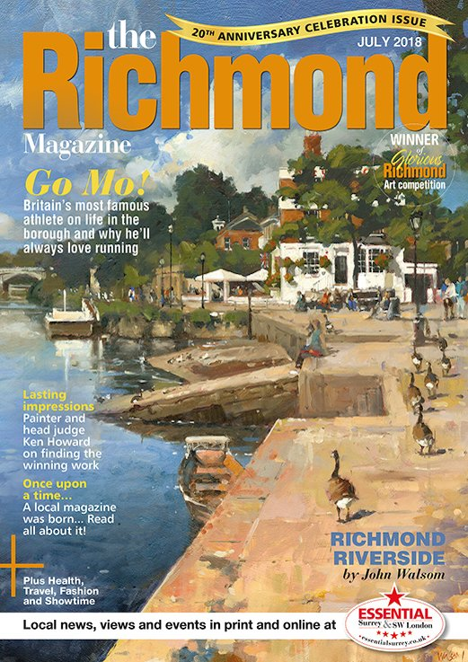 Richmond Front Cover July 2018 Issue