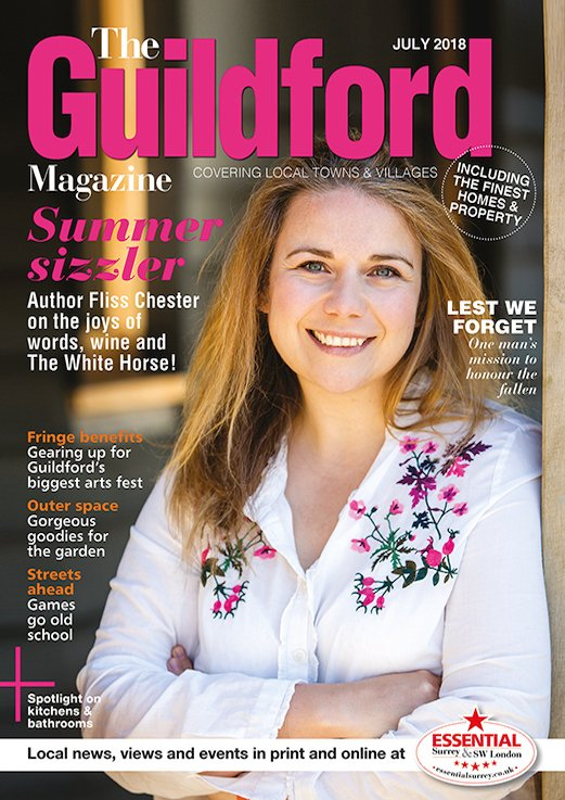 Front Cover Guildford Magazine July 2018