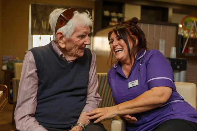 Cobham care home invites the local community to it's free dementia awareness event..JPG