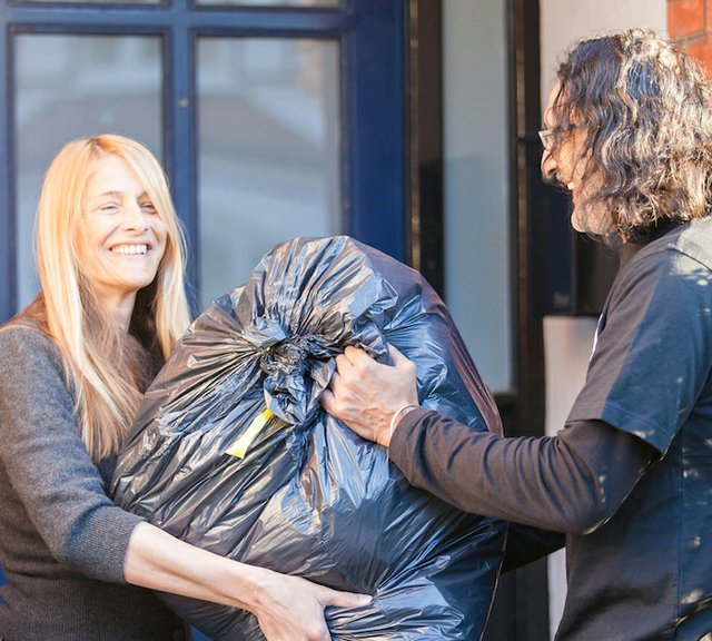 TRAID Clothes Collection Service in Surrey