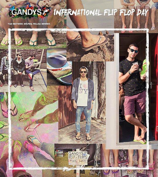 International Flip Flop Day, Gandys Brothers