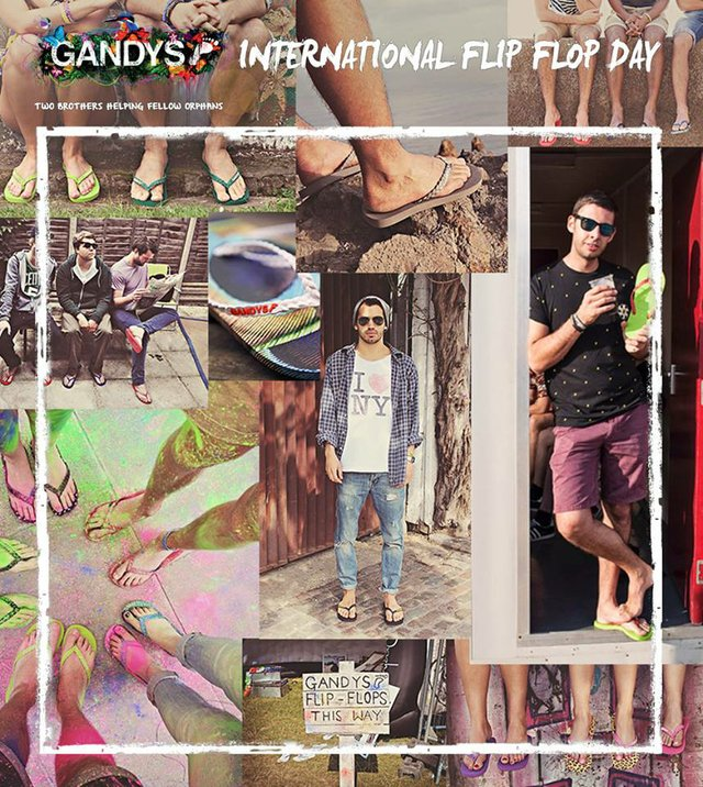 International Flip Flop Day, Gandys Brothers