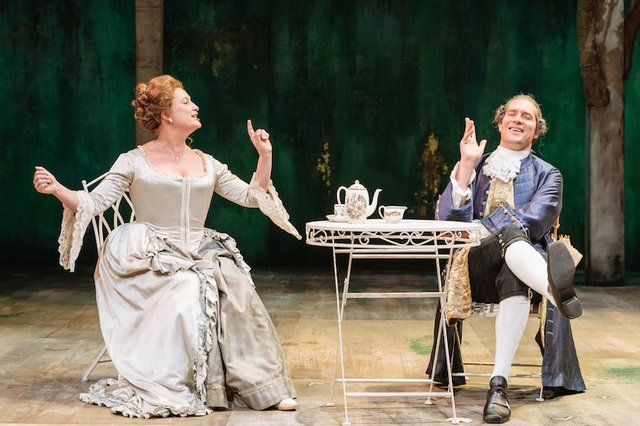 Susannah Harker and Mark Umbers in Taste of the Town_RoseTheatre_CREDIT Manuel Harlan.jpg