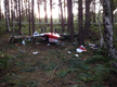 Plane crashes in Churt