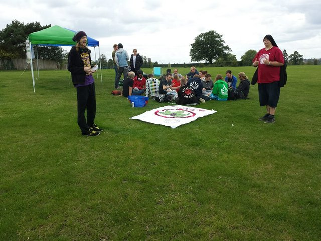 Surrey Cannabis Club hold 'Protestival' picnic