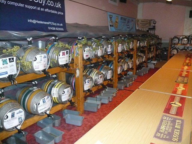 Haslemere Beer Festival 2014