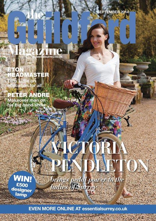 Victoria Pendleton in the Guildford Magazine