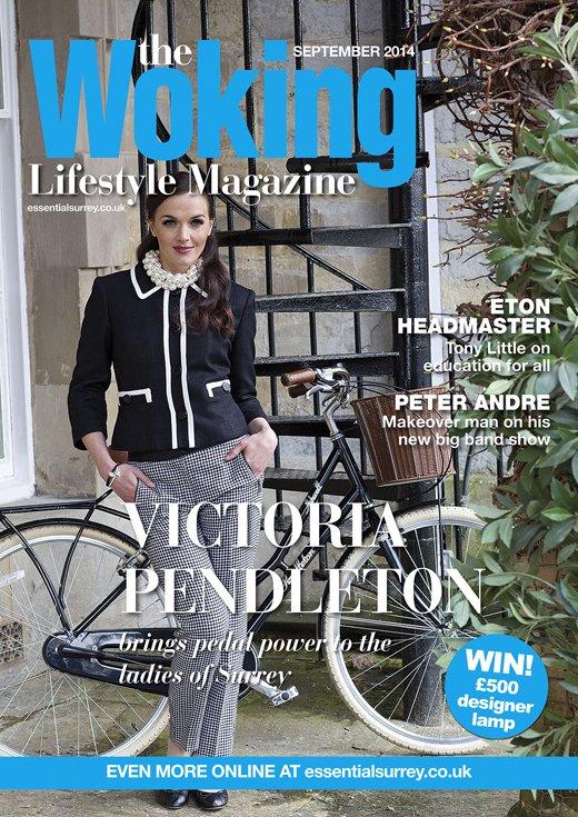 Victoria Pendleton in the Woking Magazine