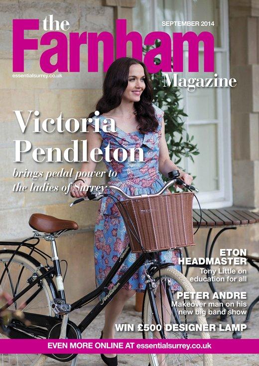 Victoria Pendleton in the Farnham Magazine