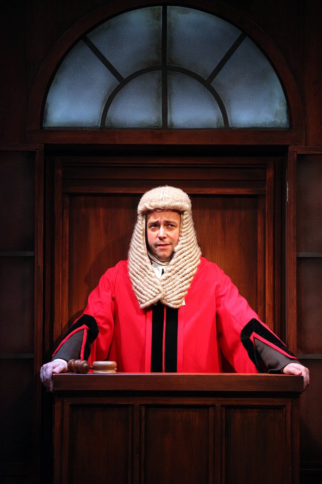 Trial By Laughter at The Watermill Theatre. Dan Tetsell. Photo by Philip Tull.JPG
