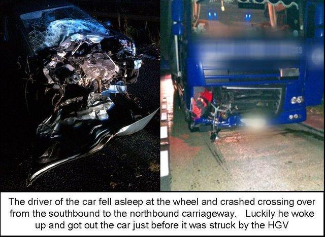 A3 guildford car crash