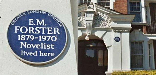 CBF2018 - Timeline EM Forster blue plaque.jpg