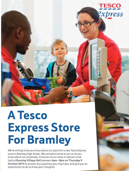 Locals angry over plans to open Tesco Express store in Bramely