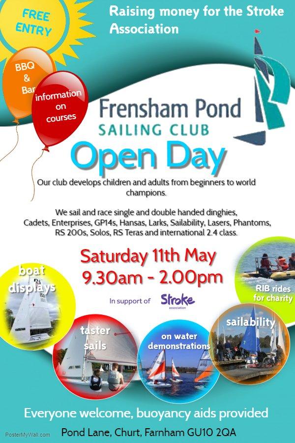 Ffpsc Calendrier 2019.Frensham Pond Sailing Club Open Day Essential Surrey Sw