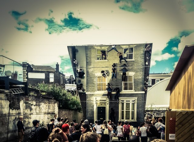 Vincenzo Albano - A Day of Mirrored Reflections at Dalston House. - London.jpg