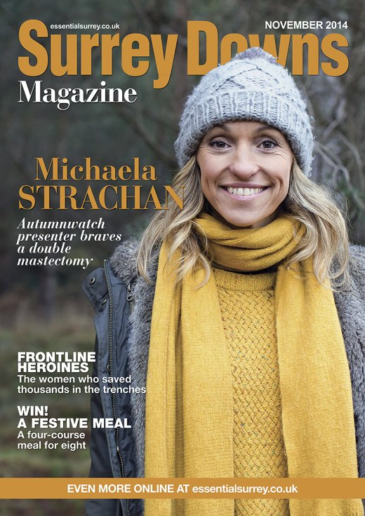Michaela Strachan double mastectomy