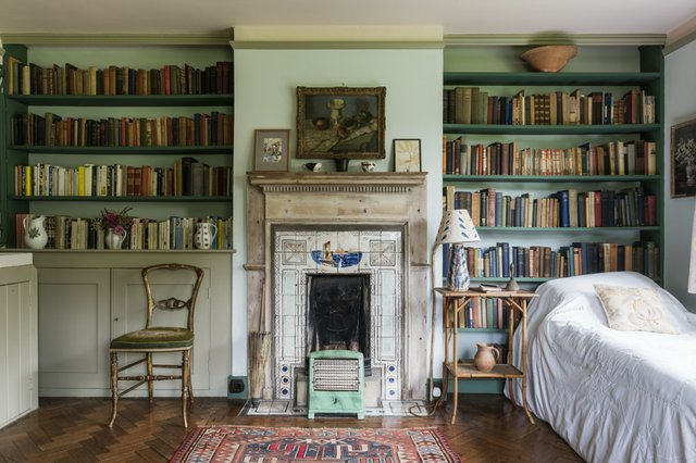 Virginia Woolf's bedroom at Monk's House, East Sussex