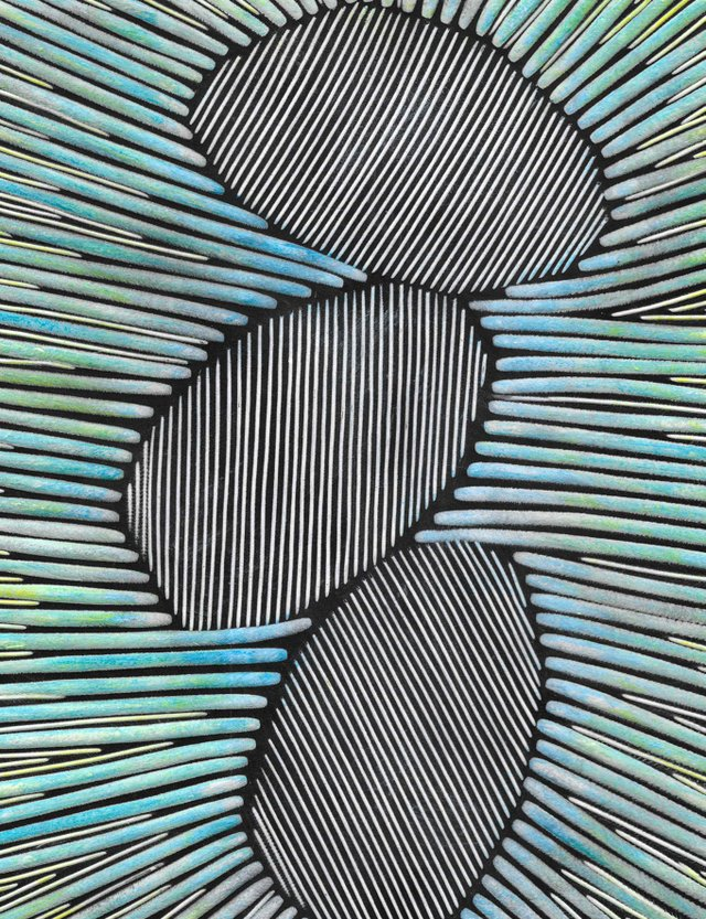 Janine Partington Precarious 2018 23x18cm carved and coloured leather panel.jpg