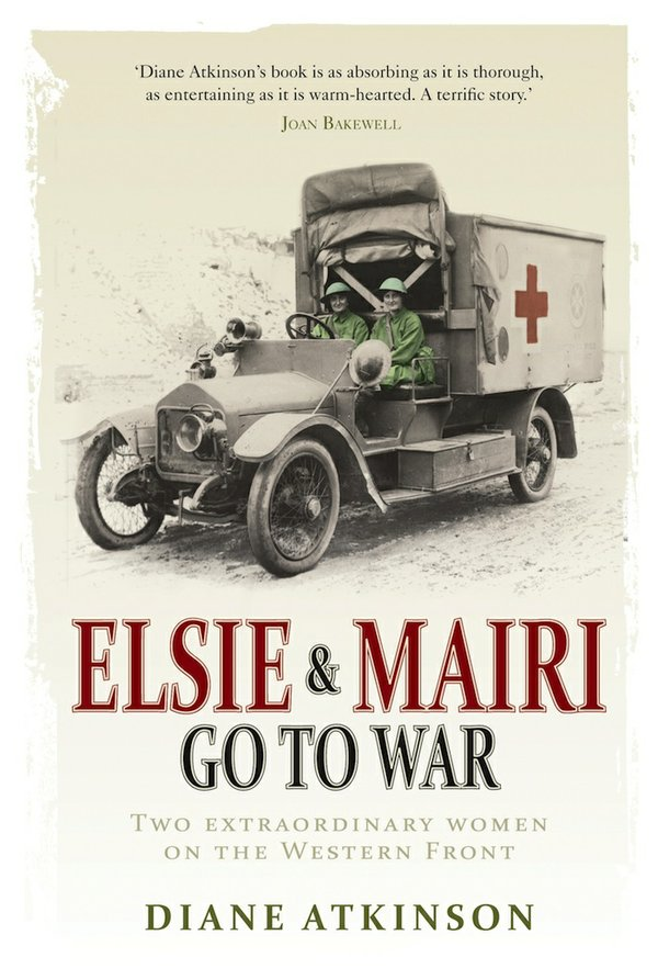 Elsie and Mairi Go To War book